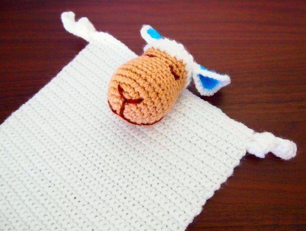 Jetzt Ein Schmusetuchschaf Häkeln Schnuffeltücher Fürs Baby Kann