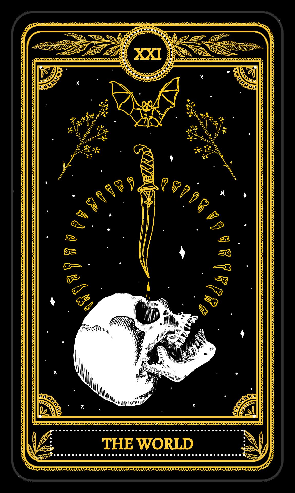 The World - The Marigold Tarot