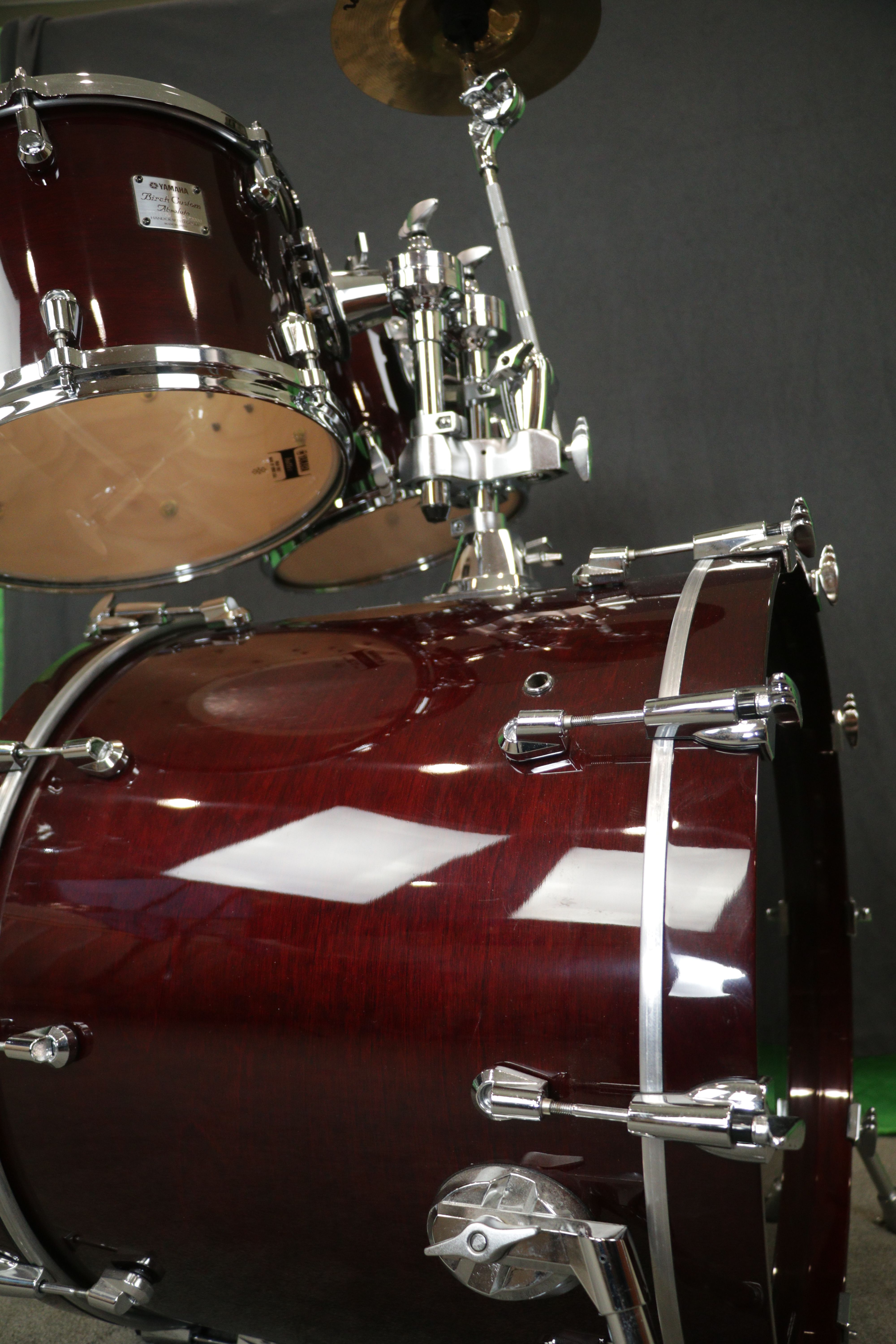 Pin By Henry On Yamaha Absolute Birch Custom Wine Red Drums Custom Wine Percussion