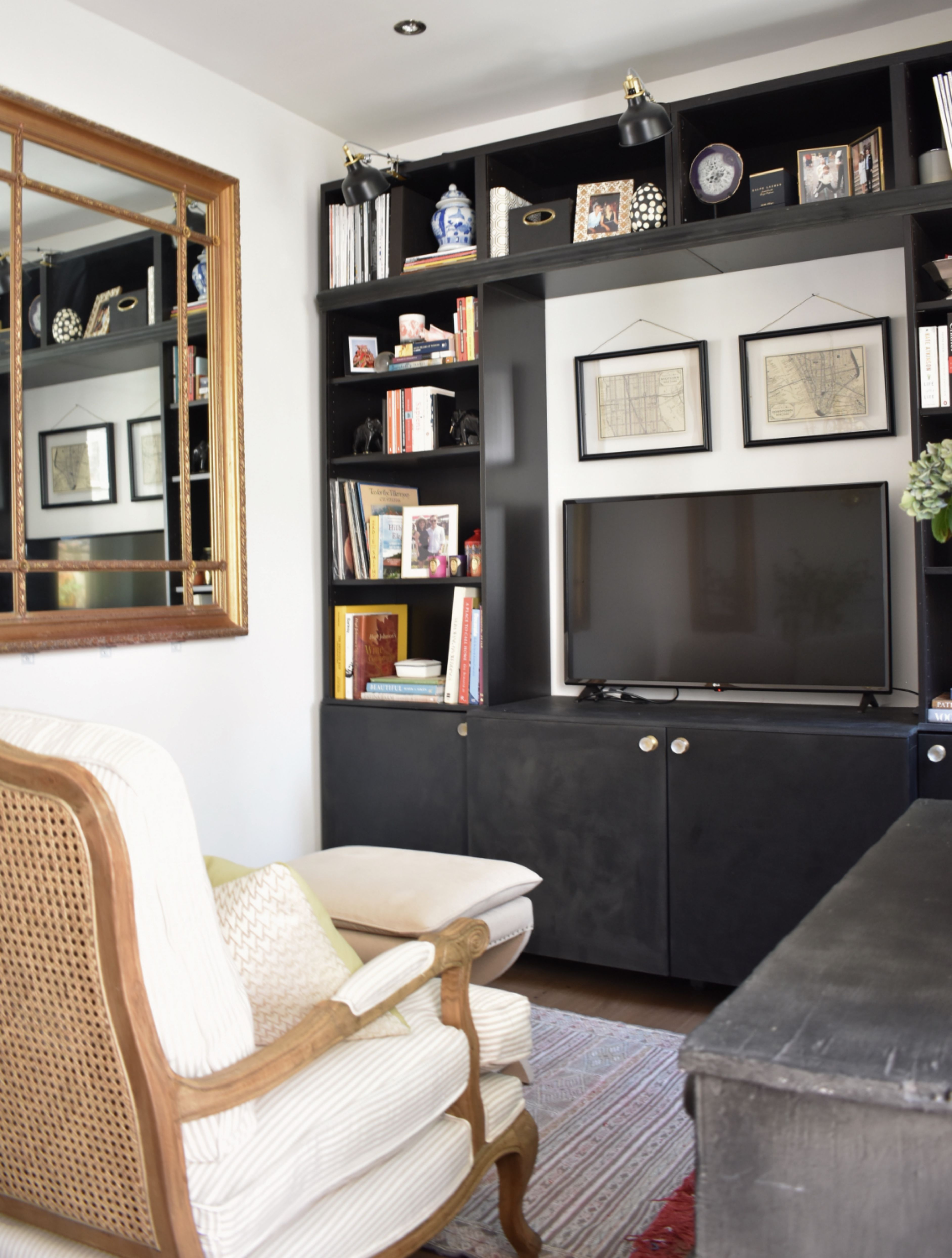 A 450 Square Foot London Flat Remodeled On A Budget Living Room
