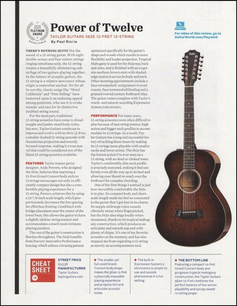 Pin On Taylor Acoustic Guitar Advertisement Ad Print