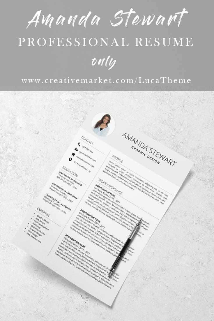 Resume Template Cv Cover Letter Resume Template Resume Template Professional Best Resume Template