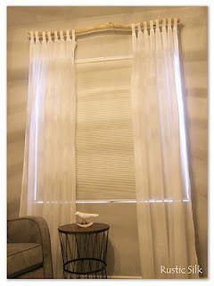 Rustic Silk Beachy Curtains Curtains Home Decor