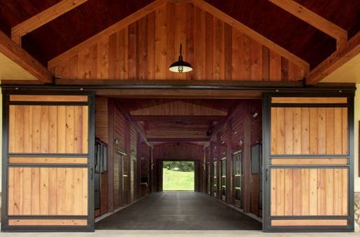 There are many horse owners who like the traditional look for Horse barn materials