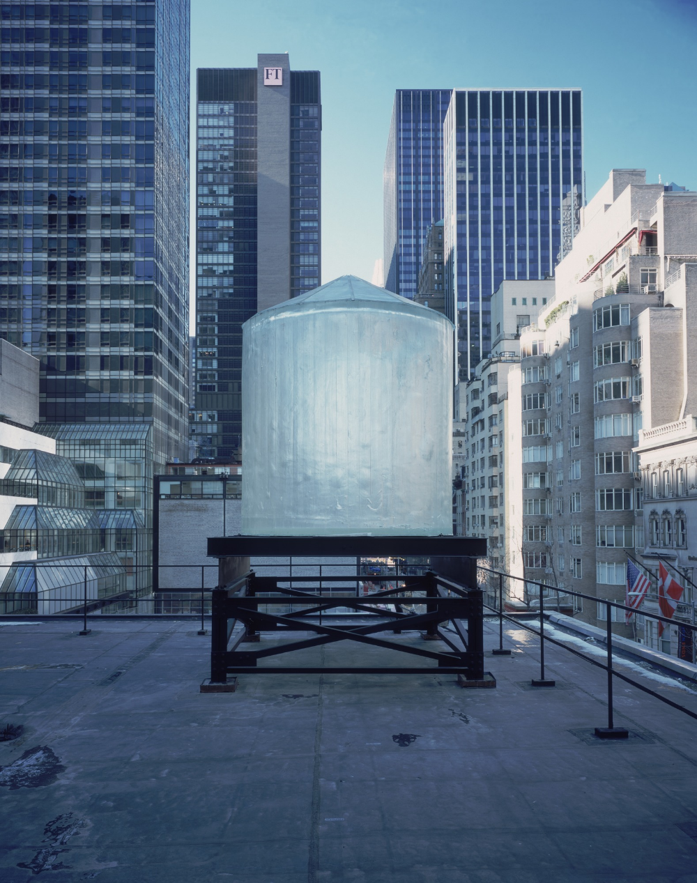 Rachel Whiteread Water Tower 1998 Moma Rachel Whiteread Water Tower Public Art