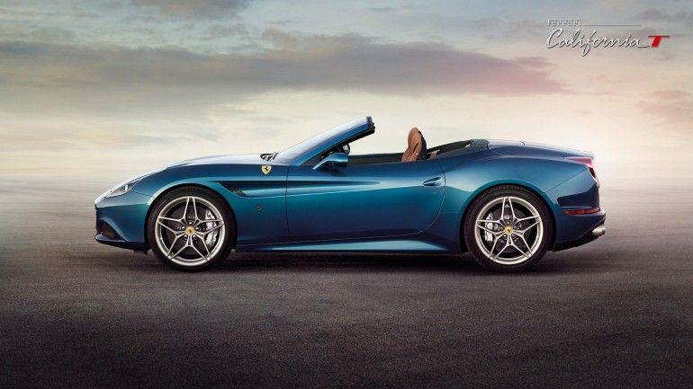 The Ferrari California T profile