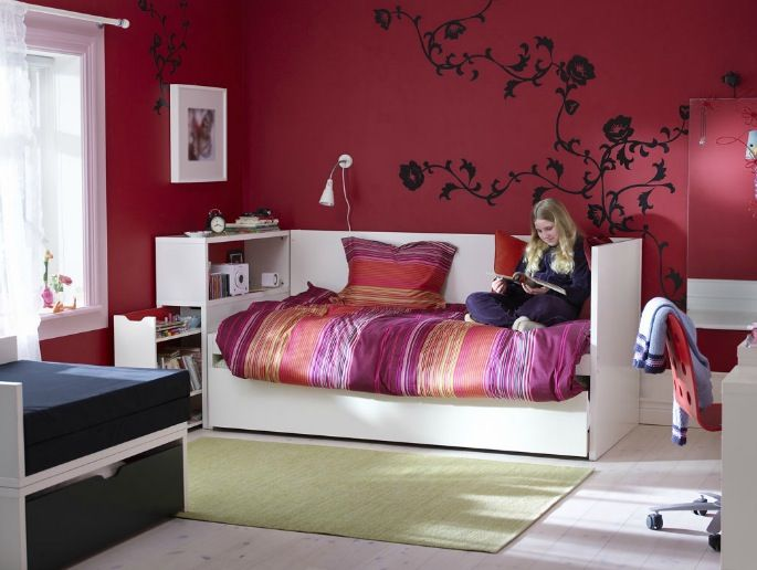 Chambre Ado Ikea Fr Une Ambiance Tres Girly Deco Chambre