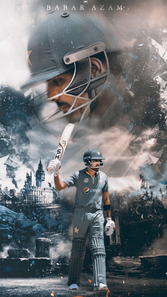Babar Azam The Pakistani Hope By Mahmudgfx Cricket Wallpapers Pakistan Cricket Team Cricket Poster