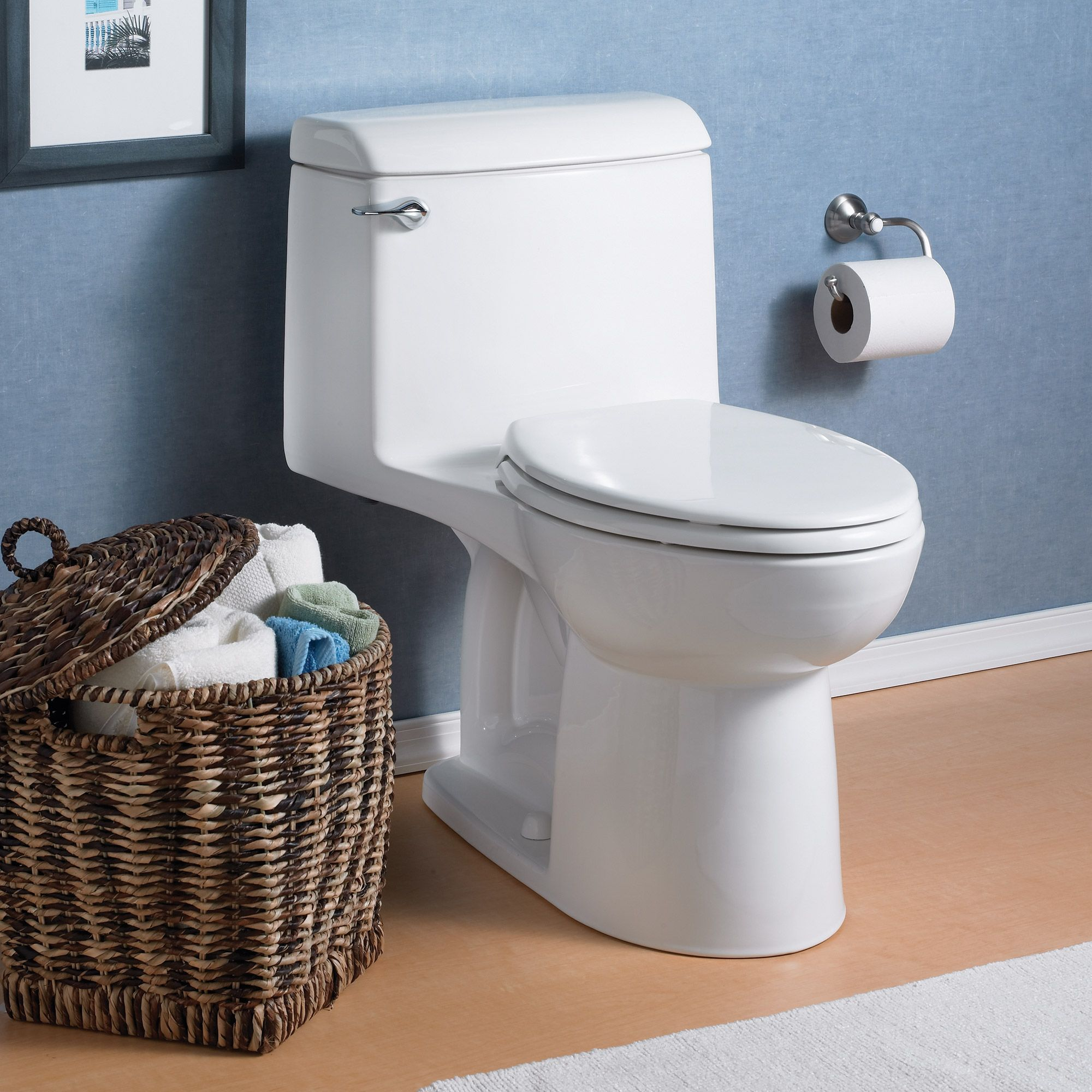 Champion 4 Elongated One Piece Toilet With Seat American Standard With Images One Piece Toilets How To Unclog Toilet