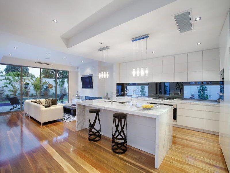 kitchen design ideas moderne k che k che und h uschen. Black Bedroom Furniture Sets. Home Design Ideas