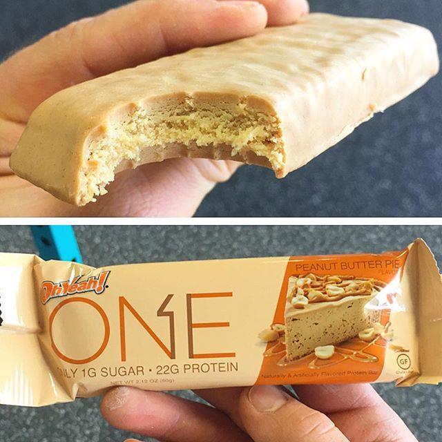 Ohyeahnutr Peanut Butter One Bar Honestly Guys And Gals This Beats The