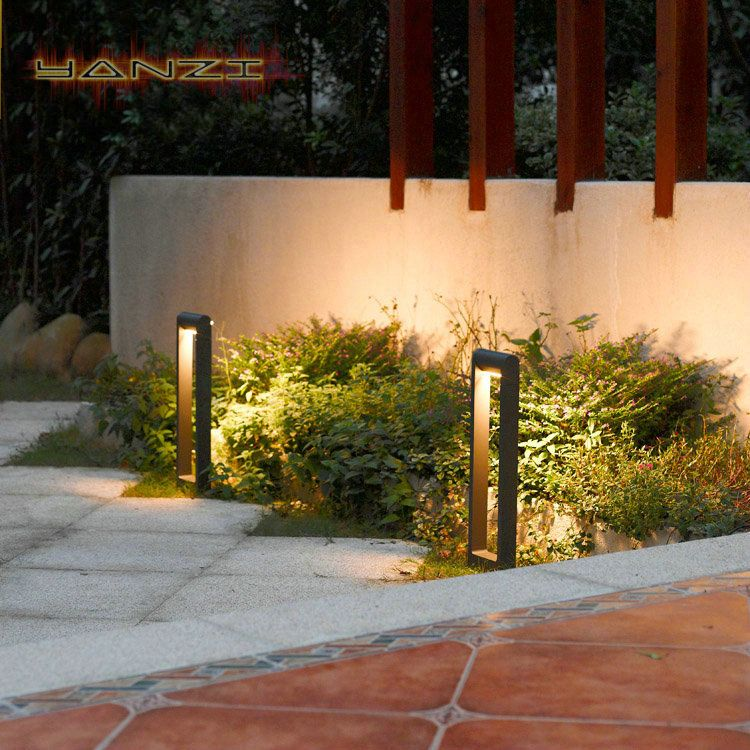 Modern home outdoor waterproof led lawn lamp outdoor terrace balcony garden park landscape garden light lighting