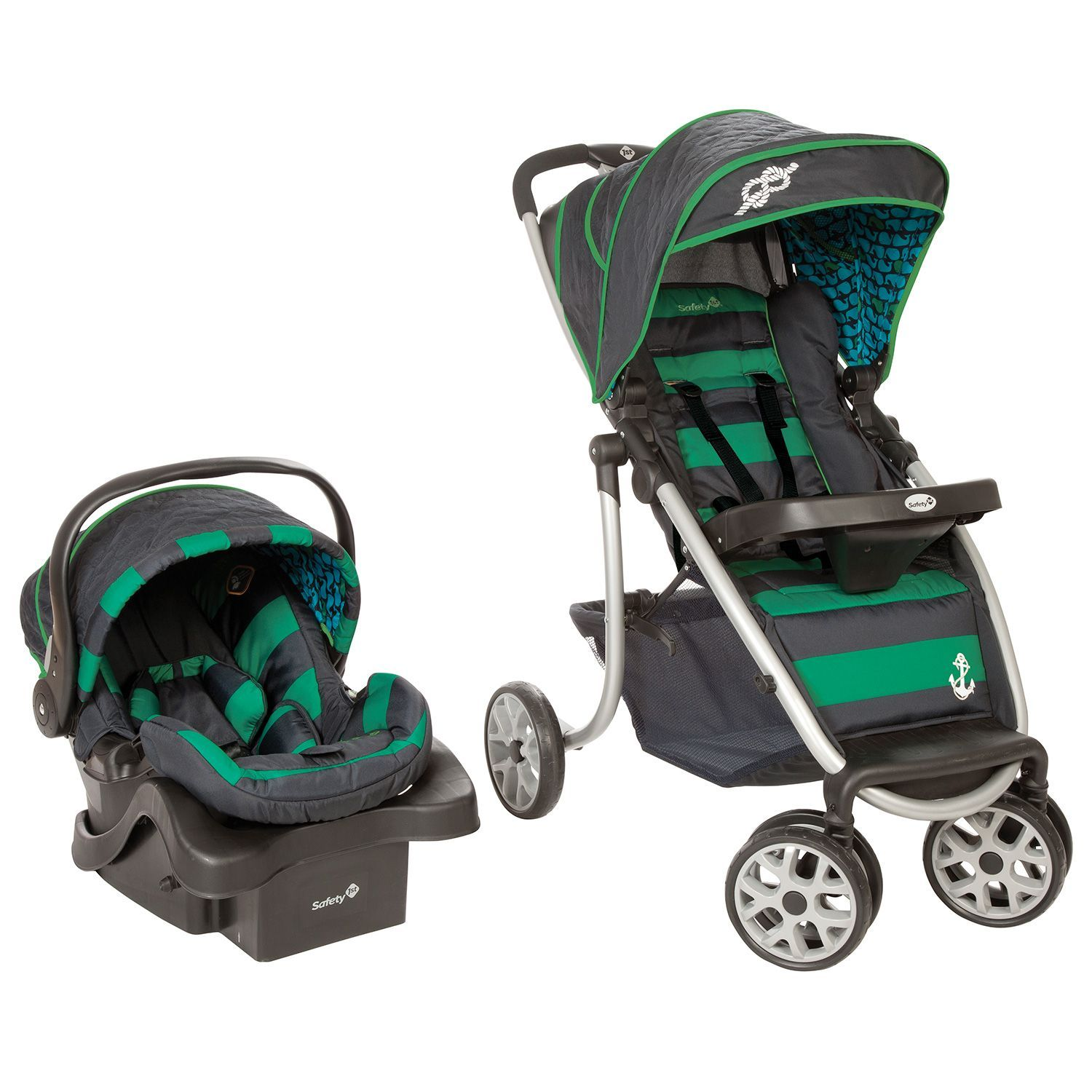 Safety 1st SleekRide Premier Travel System Sail Away
