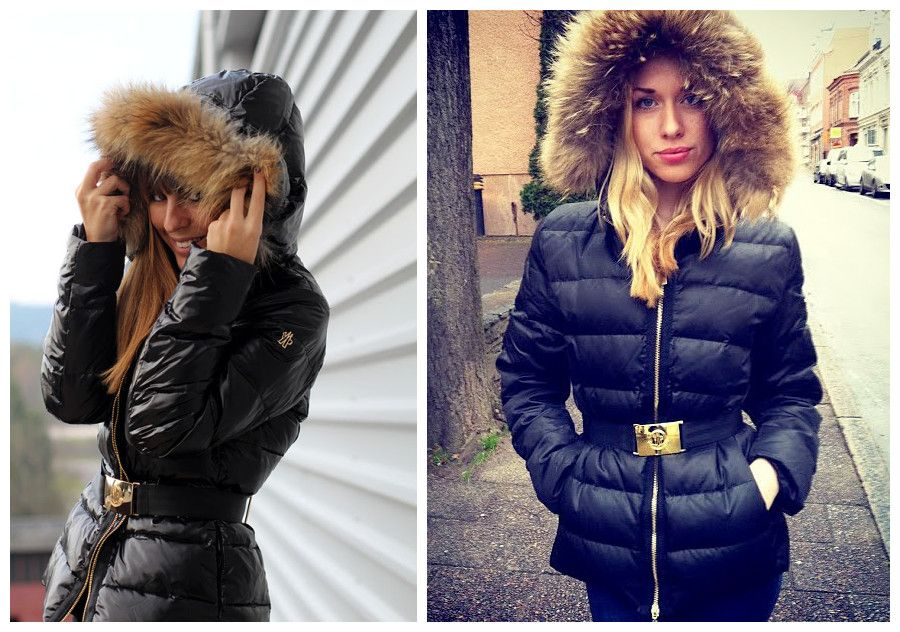 Moncler Womens Coat With Fur Hood | Tops & Jackets | Pinterest ...