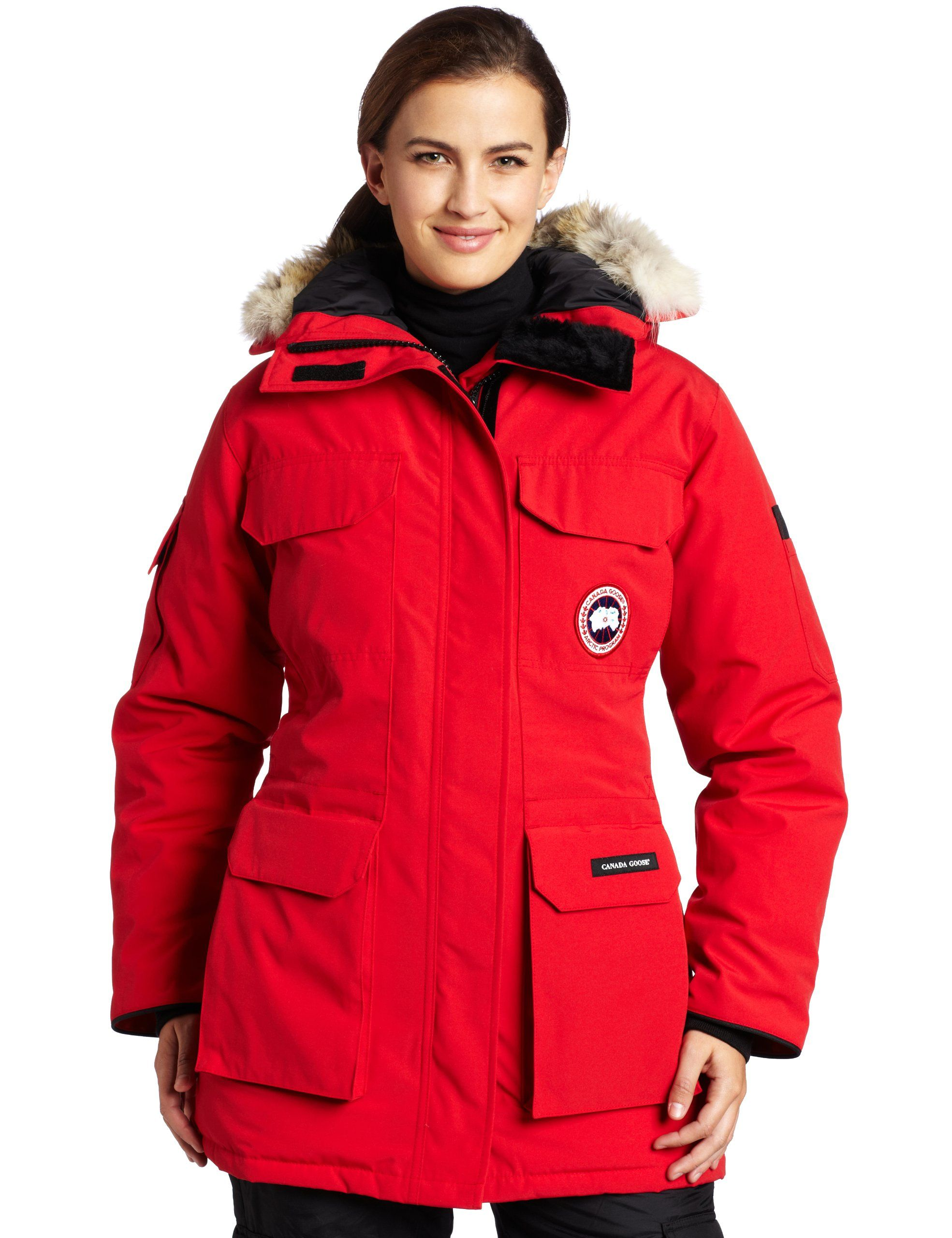 Canada Goose Women's Expedition Parka,Red,Medium. Rated a 5 on Canada Goose's
