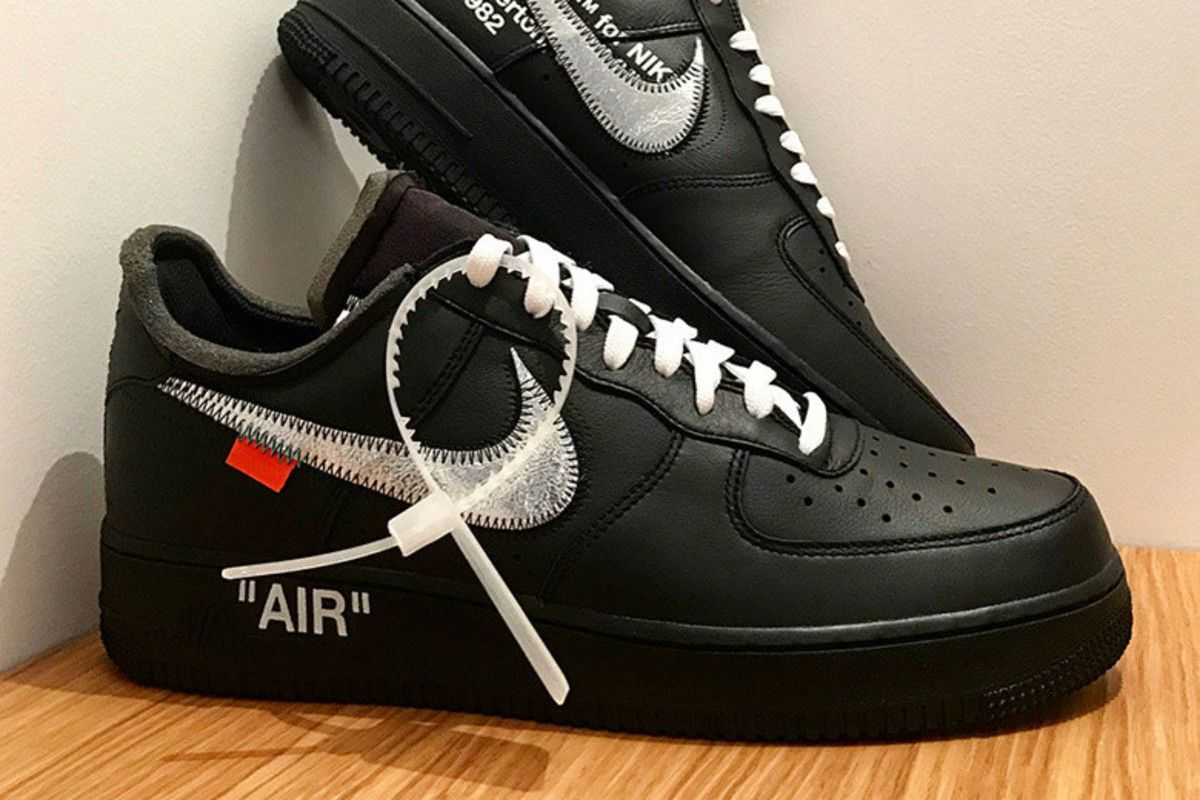 This Virgil Abloh x Nike Air Force 1 Is a MoMA