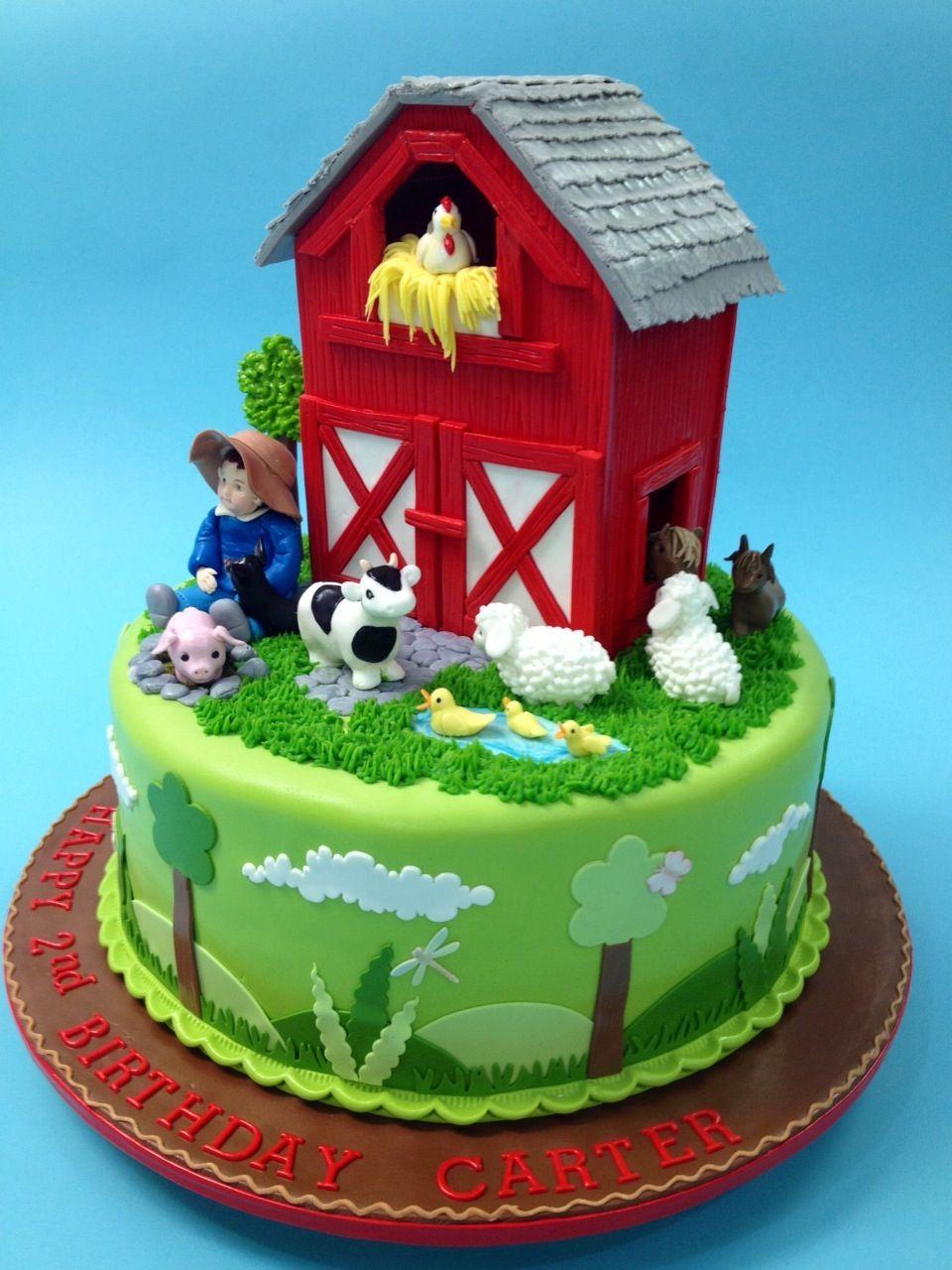 Farm cake made by Mercedes Strachwsky