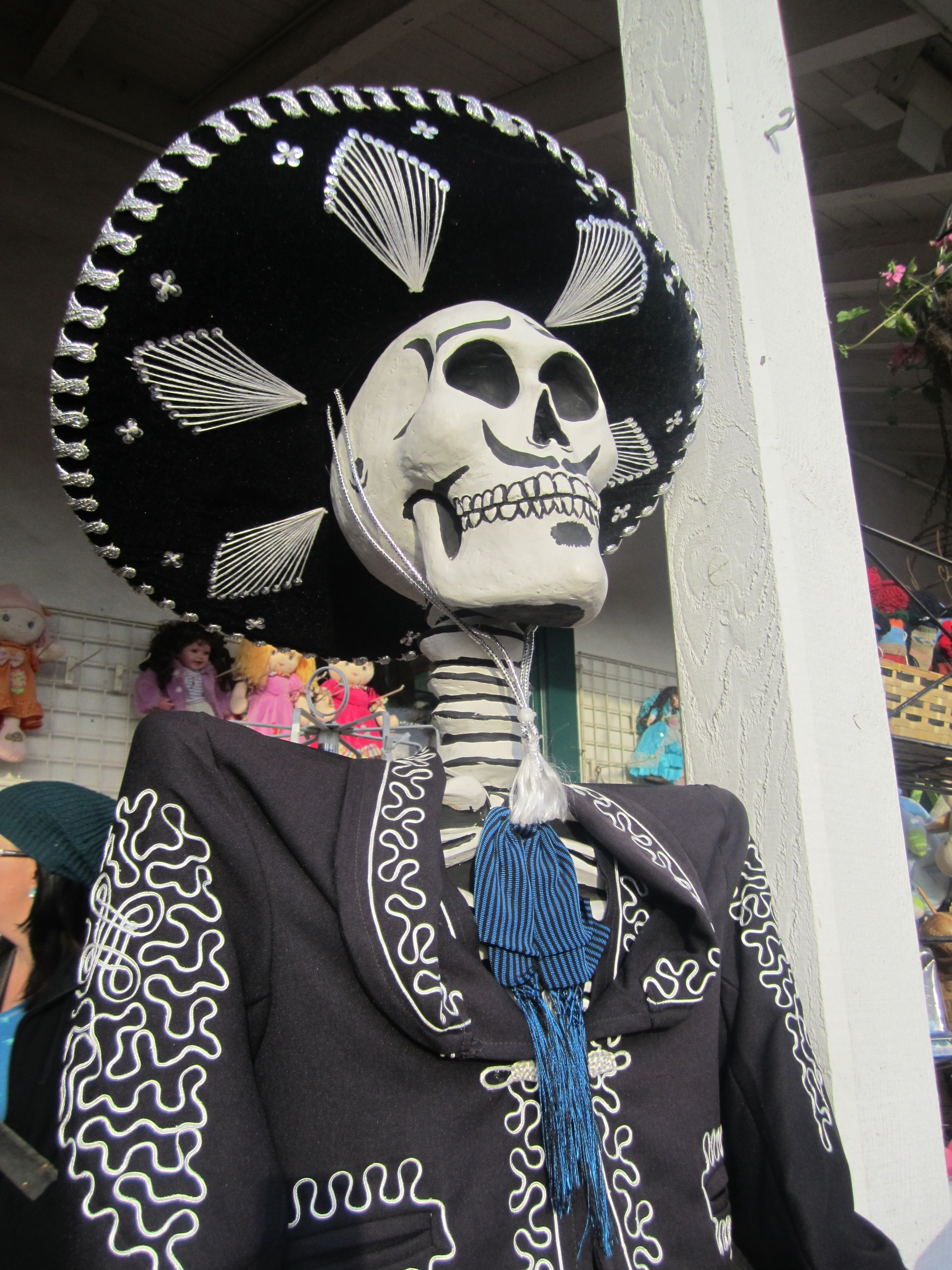Day of The Dead figure - Old Town, San Diego 2012