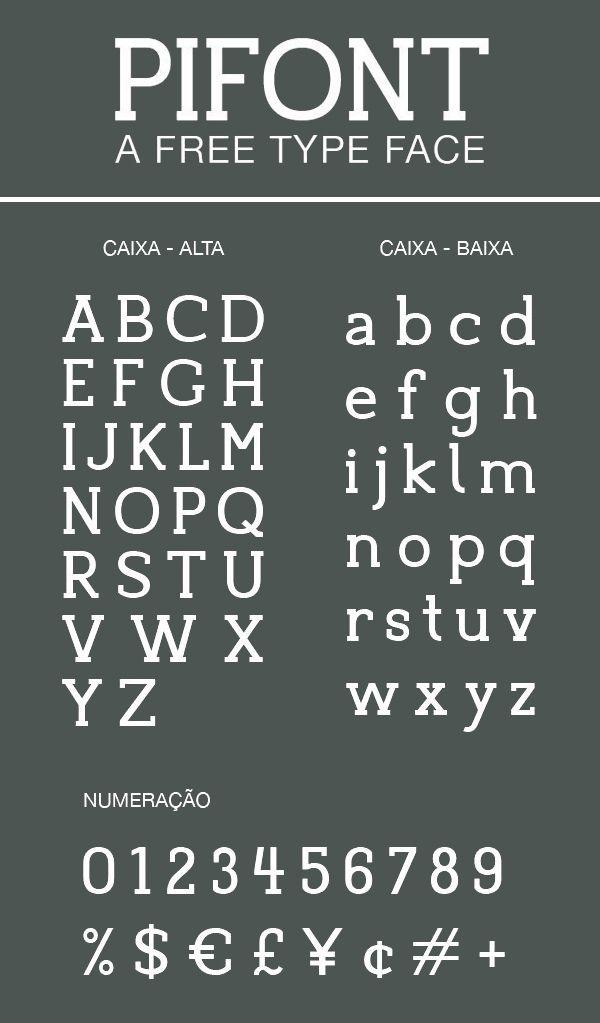 Pifont Font Letters | Escritura | Tipografía, Disenos de
