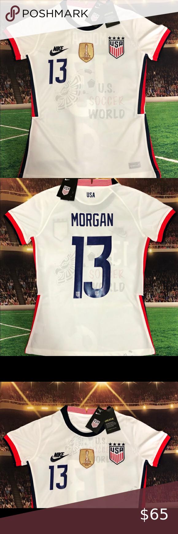 2021 Usa Womens Soccer Jersey Alex Morgan 13 Fifa Usa Soccer Women Womens Soccer Soccer Jersey