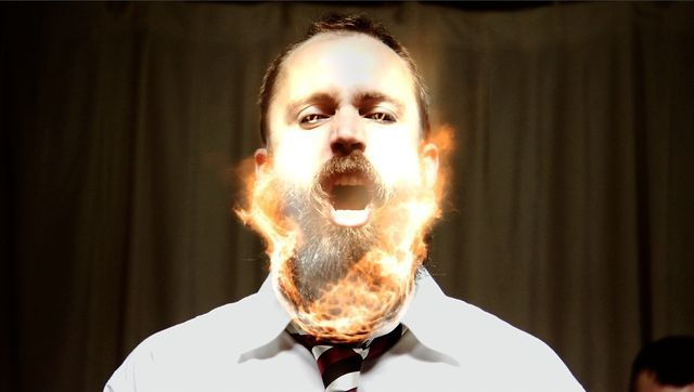 18++ Burning beard information