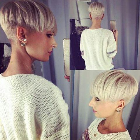 12 Angesagte Kurzhaarfrisuren Fur Frauen Die Stolz Auf Ihre Wilde Mahne Sind Kurzhaarfrisuren Kurze Blonde Frisuren Haarschnitt