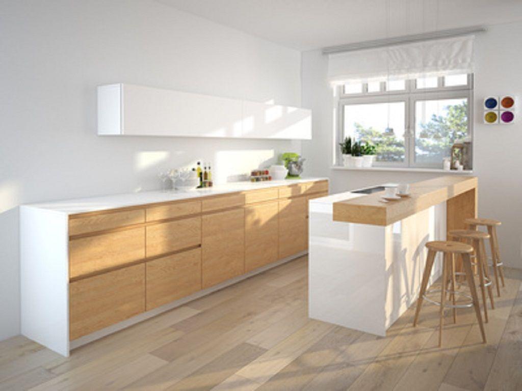 ilot central bar - Recherche Google | Idées pour la maison ...