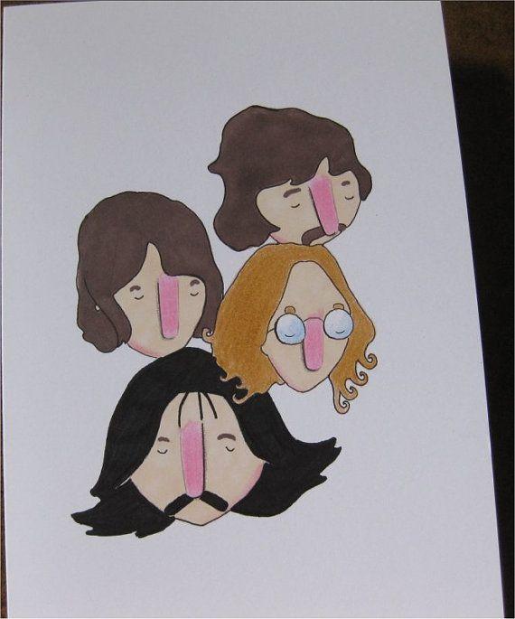 The 70s Beatles by simplekidindustries on Etsy