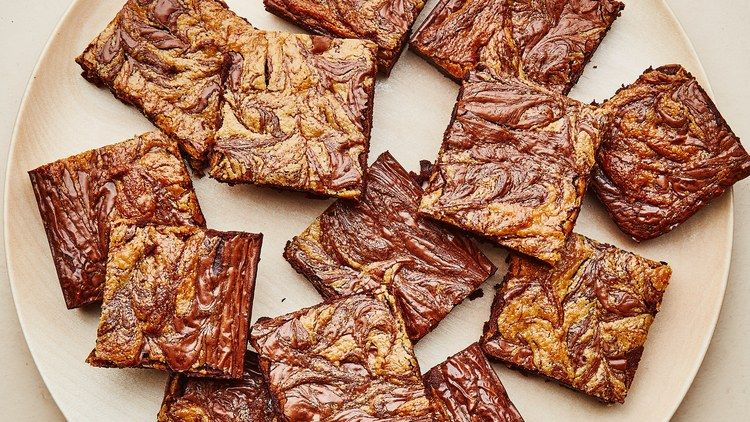 Gluten-Free Chocolate-Tahini Brownies Recipe Recipe | Bon Appetit