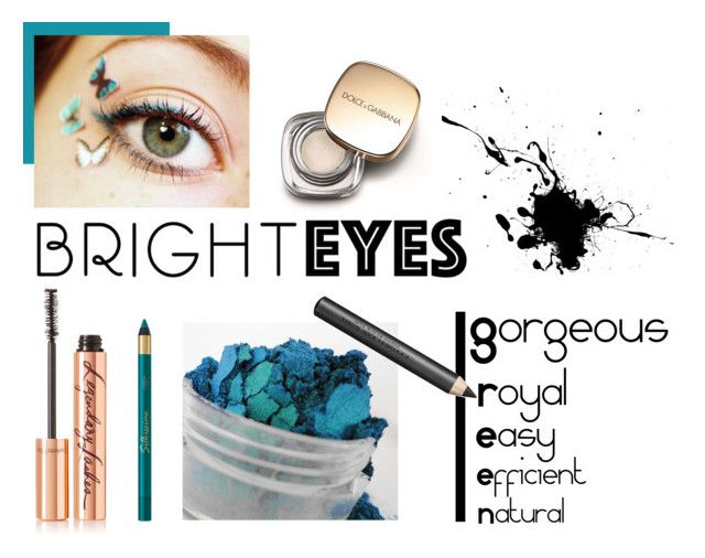 """""""GREEN EYES POWER"""" by cel-mou ❤ liked on Polyvore featuring beauty, Charlotte Tilbury, Dolce&Gabbana, Burberry and brighteyes"""