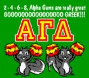 Alpha Gamma Delta goooo greek!