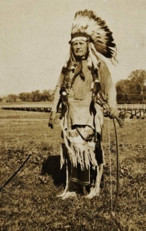 Pohd-Lohk (Aka Old Wolf, Aka Kiowa George, Aka George Poolaw) - Kiowa - 1938