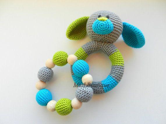 Baby-Rassel-SET von 2 häkeln Baby Spielzeug von MioLBoutique ...