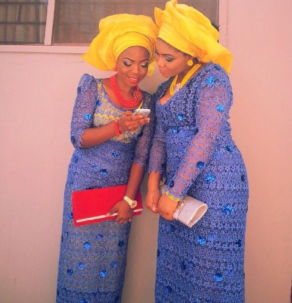 WDN's Funky & Colorful Aso Ebi Styleinspiration - Wedding Digest Naija