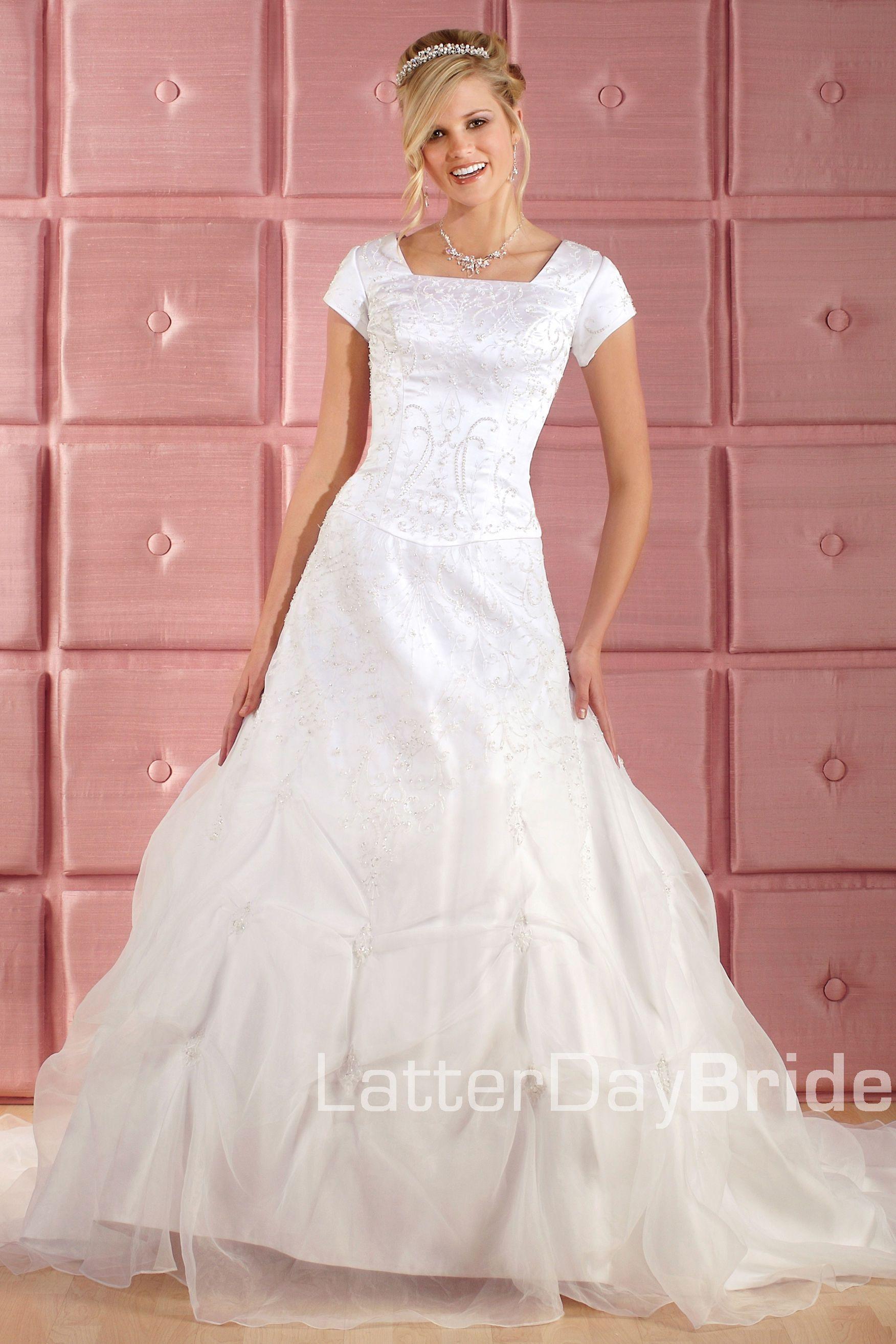Modest Wedding Dress, Wellington   LatterDayBride & Prom. Modest ...