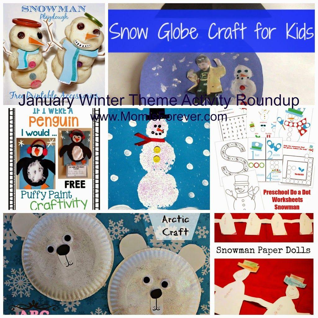 15 January Winter Theme Activities For Preschoolers