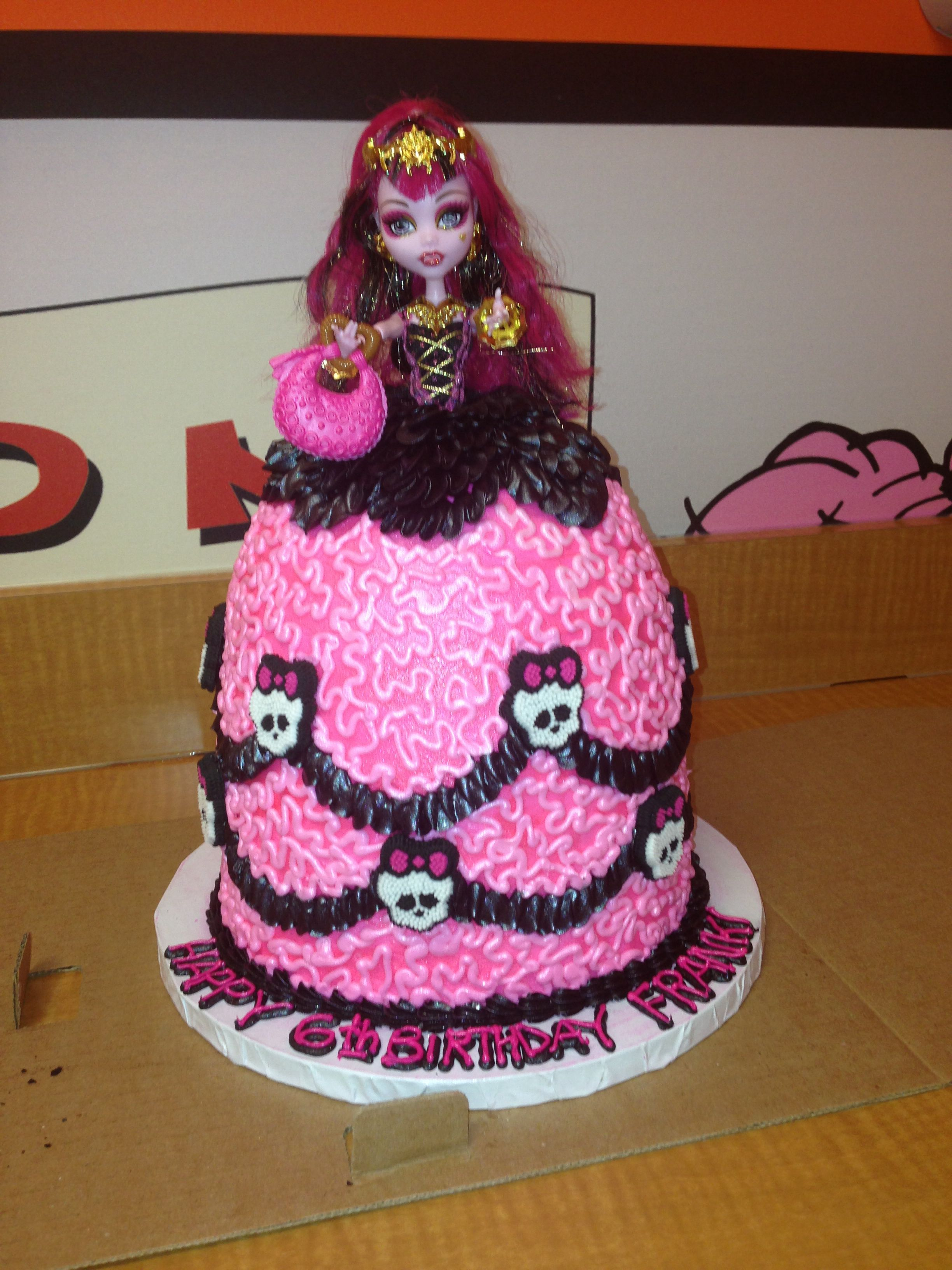 monster high birthday cake high birthday cake desserts 6004