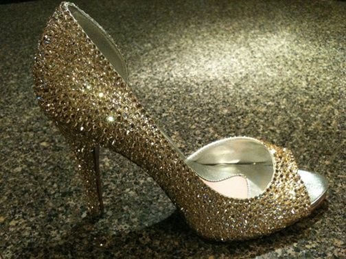 Sparkle shoes wedding inspirations wedding shoes pinterest do it yourself sparkle shoes may need this idea some day solutioingenieria Gallery