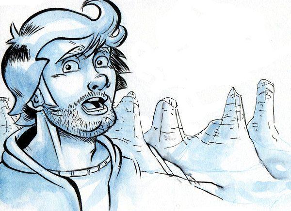 Daily Sketch - Monday Morning by ElioFinocchiaro.deviantart.com on @deviantART