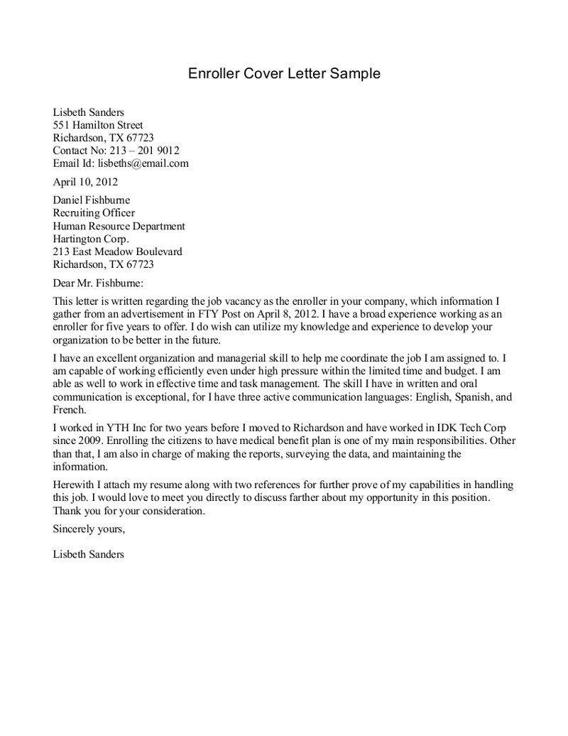Vegas Go Green On Medical Marijuana Resume Cover Letter Examples Cover Letter For Resume