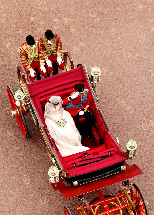 William and Kate wedding via Bibeline Designs