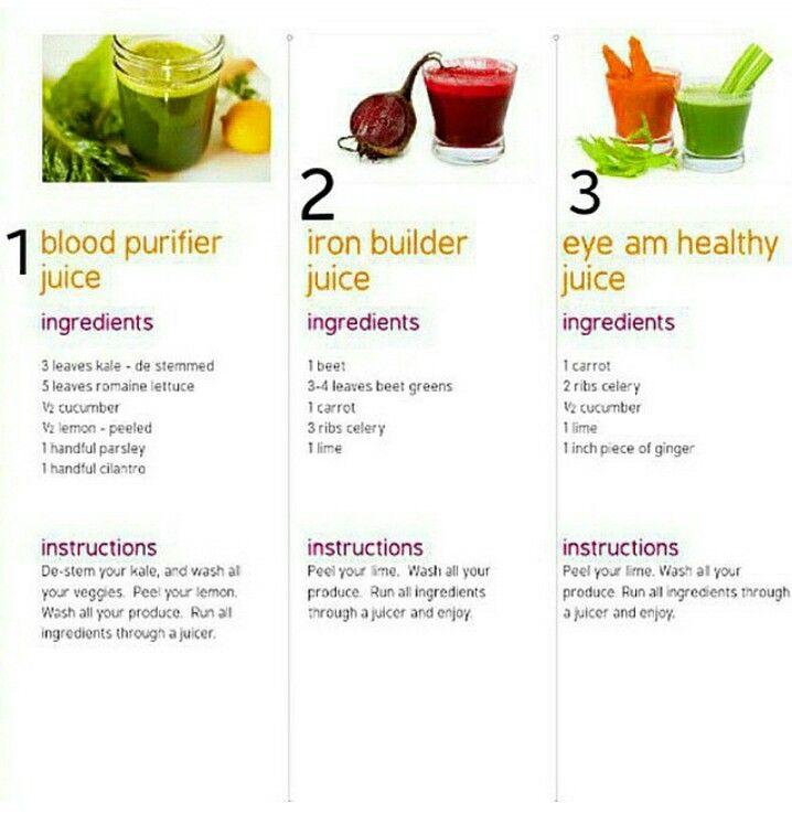 افكار لعصير الخضار 1 عصير تنقيه الدم ثلاث اوراق كيل ممكن خس خمسه اوراق خس عادي نصف خياره نص ليمونه كبيره Organic Recipes Healthy Healthy Juices Beet Greens