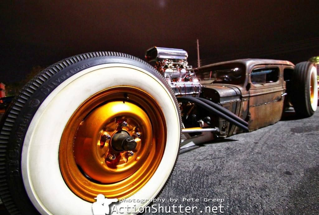 Here is one of the baddest rat rods out there. Custom