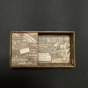 Cover the 18 valve spring winding music box