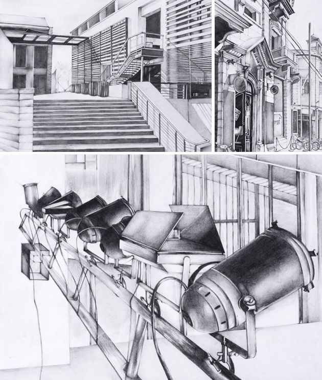 Architecture Drawing Class how to make an awesome art portfolio for college or university