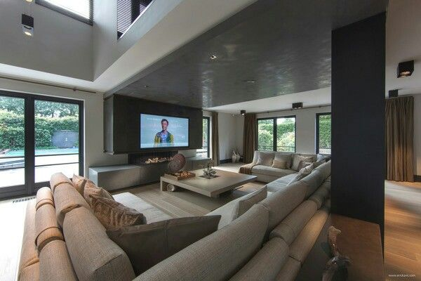 Pin By Alia Malik On My House Mansion Living Room Mansion Living Big Living Rooms