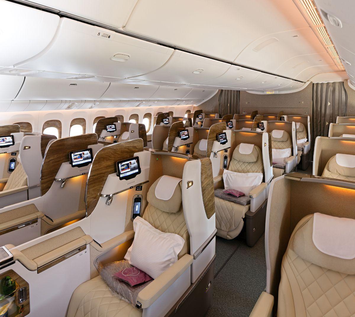 Aviões da Emirates terão suíte privada com janela virtual