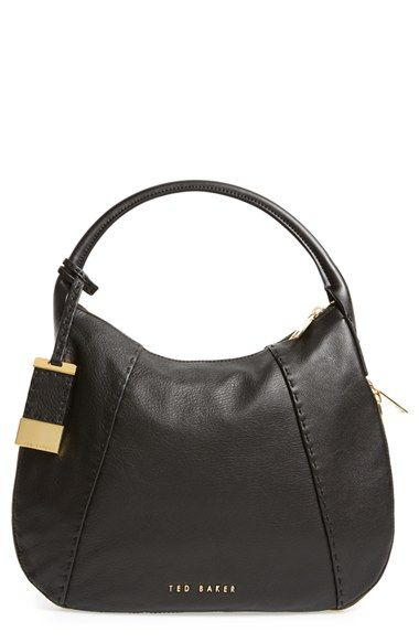 Ted Baker London Leather Hobo Bag available at #Nordstrom