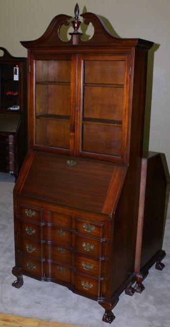 English Slant Front Desk Completed Furniture Desks