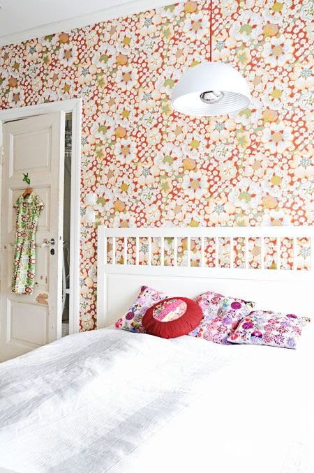 Most beautiful wallpaper ever. Must have! From Boråstapeter.